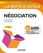 Couverture du livre « La boîte à outils ; négociation (2e édition) » de Patrice Stern et Jean Mouton aux éditions Dunod