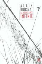Couverture du livre « Resistance infinie (la) » de Alain Brossat aux éditions Leo Scheer