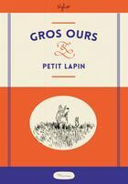 Couverture du livre « Gros ours et petit lapin » de Nylso aux éditions Misma