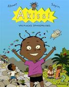 Couverture du livre « Akissi t.3 ; vacances dangereuses » de Marguerite Abouet aux éditions Gallimard Bd