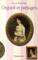 Couverture du livre « Orgueil et préjugés » de Jane Austen aux éditions Flammarion