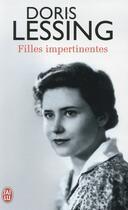 Couverture du livre « Filles impertinentes » de Doris Lessing aux éditions J'ai Lu
