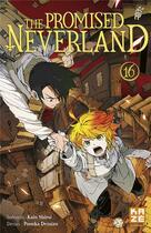 Couverture du livre « The promised Neverland T.16 » de Posuka Demizu et Kaiu Shirai aux éditions Kaze