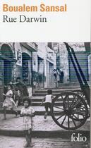 Couverture du livre « Rue Darwin » de Boualem Sansal aux éditions Gallimard