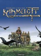 Couverture du livre « Kaamelott ; COFFRET VOL.1 ; T.1 A T.3 » de Alexandre Astier et Steven Dupre aux éditions Casterman
