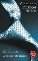 Couverture du livre « Cinquante nuances de grey » de E. L. James aux éditions Lgf