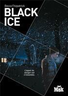 Couverture du livre « Black ice » de Becca Fitzpatrick aux éditions Editions Du Masque