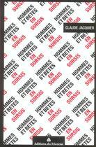 Couverture du livre « Hommes Et Betes En Sursis » de Claude Jacquier aux éditions Tricorne