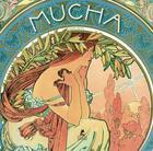 Couverture du livre « Alfons Mucha » de Nentwig Janina aux éditions Place Des Victoires