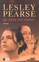 Couverture du livre « De Pere Inconnu » de Lesley Pearse aux éditions Archipel