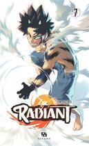 Couverture du livre « Radiant T.7 » de Tony Valente aux éditions Ankama