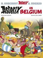 Couverture du livre « Astérix in belgium » de Rene Goscinny et Albert Uderzo aux éditions Orion