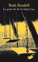 Couverture du livre « Le petit été de la Saint-Luc » de Rendell-R aux éditions Editions Du Masque