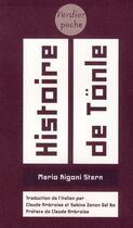 Couverture du livre « Histoire de Tönle » de Mario Rigoni Stern aux éditions Verdier