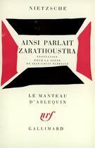 Couverture du livre « Ainsi Parlait Zarathoustra » de Nietzsche Fried aux éditions Gallimard