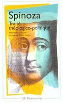 Couverture du livre « Oeuvres t.2 ; traité théologico-politique » de Baruch Spinoza aux éditions Flammarion