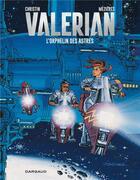 Couverture du livre « Valérian T.17 ; l'orphelin des astres » de Pierre Christin et Jean-Claude Mézières aux éditions Dargaud