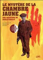 Couverture du livre « Une aventure de Rouletabille T.1 ; le mystère de la chambre jaune » de Jean-Charles Gaudin et Sibin Slavkovic aux éditions Soleil