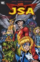 Couverture du livre « JSA t.2 ; qu'injustice soit faite » de Geoff Johns aux éditions Panini