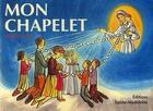 Couverture du livre « Mon chapelet » de Francine Bay aux éditions Sainte Madeleine