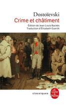 Couverture du livre « Crime et châtiment » de Fedor Mikhailovitch Dostoievski aux éditions Lgf