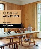 Couverture du livre « La maison au naturel » de Karine Villame aux éditions Massin