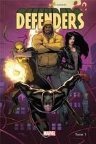 Couverture du livre « Defenders T.1 » de David Marquez et Brian Michael Bendis aux éditions Panini