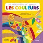 Couverture du livre « Mes petites comptines pour apprendre les couleurs » de Gaelle Vervelle-Berthelet et Raphaelle Albert aux éditions Millepages