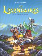 Couverture du livre « Les Légendaires T.1 ; la pierre de Jovénia » de Patrick Sobral aux éditions Delcourt