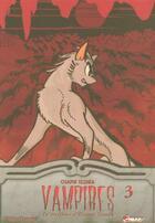 Couverture du livre « Vampires t.3 » de Osamu Tezuka aux éditions Asuka
