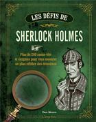 Couverture du livre « Les défis de Sherlock Holmes » de Dan Moore aux éditions L'imprevu