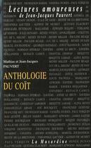 Couverture du livre « Anthologie Du Coit » de Pauvert Mathias aux éditions La Musardine