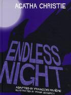 Couverture du livre « Agatha Christie en VO ; endless night » de Francois Riviere et Frank Leclercq aux éditions Paquet