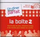Couverture du livre « Boîte animation t.2 ; un dîner presque parfait » de Collectif aux éditions M6 Editions