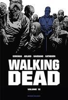 Couverture du livre « Walking dead ; INTEGRALE VOL.12 ; T.23 ET T.24 » de Robert Kirkman et Stefano Gaudiano aux éditions Delcourt