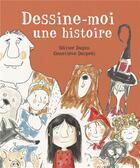 Couverture du livre « Dessine-moi une histoire » de Olivier Dupin et Genevieve Despres aux éditions Mijade