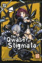 Couverture du livre « The qwaser of stigmata t.10 » de Ken-Etsu Sato et Hiroyuki Yoshino aux éditions Kaze