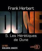 Couverture du livre « Les heretiques de dune - tome 5 - volume 05 » de Frank Herbert aux éditions Lizzie