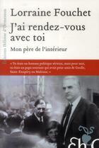 Couverture du livre « J'ai rendez-vous avec toi » de Lorraine Fouchet aux éditions Heloise D'ormesson