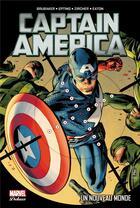 Couverture du livre « Captain America T.2 ; un nouveau monde » de Patrick Zircher et Ed Brubaker et Steve Epting et Scott Eaton aux éditions Panini