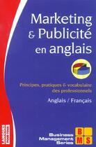Couverture du livre « Marketing Et Publicite En Anglais » de Armand Dayan aux éditions Langues Pour Tous