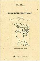 Couverture du livre « Farandole Provencale » de Gerard Pons aux éditions Nerthe