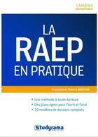 Couverture du livre « La RAEP en pratique » de Francoise Montero aux éditions Studyrama