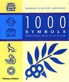 Couverture du livre « 1000 symbols » de Shepherd Rowena aux éditions Thames & Hudson