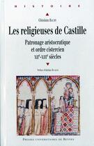 Couverture du livre « Les religieuses de Castille » de Ghislain Baury aux éditions Pu De Rennes