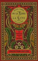 Couverture du livre « De la terre a la lune » de Jules Verne aux éditions Elcy Jeunesse