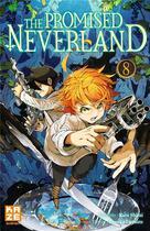Couverture du livre « The promised Neverland T.8 » de Posuka Demizu et Kaiu Shirai aux éditions Kaze