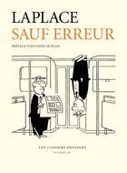 Couverture du livre « Sauf erreur » de Jean Laplace aux éditions Cahiers Dessines