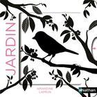 Couverture du livre « Jardin » de Amandine Laprun aux éditions Nathan