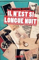 Couverture du livre « Il n'est si longue nuit » de Beatrice Nicodeme aux éditions Gulf Stream